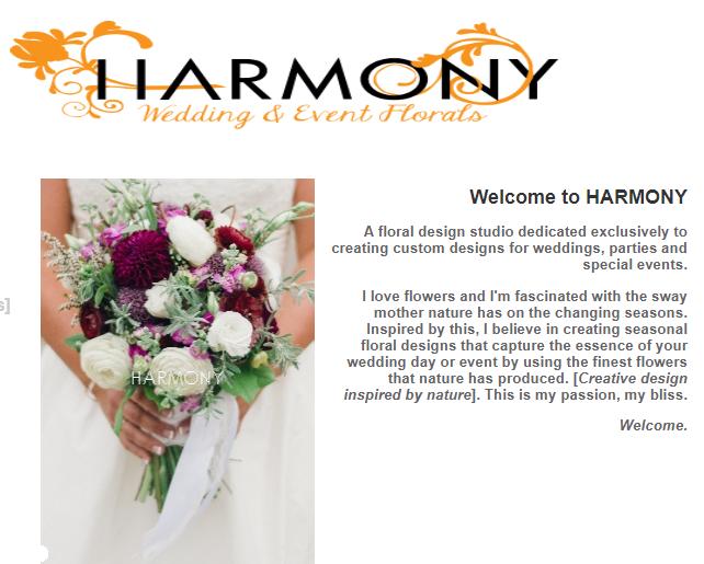 harmony florals logo