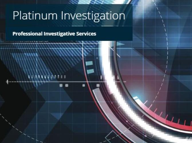 platinum investigation logo